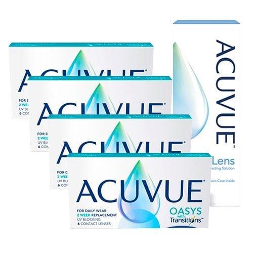 Acuvue Oasys With Transitions Kampanya 4 Kutu, acuvue oasys with transitions lens fiyatı, renk değiştiren lens fiyatı, oasys transitions lens fiyatı