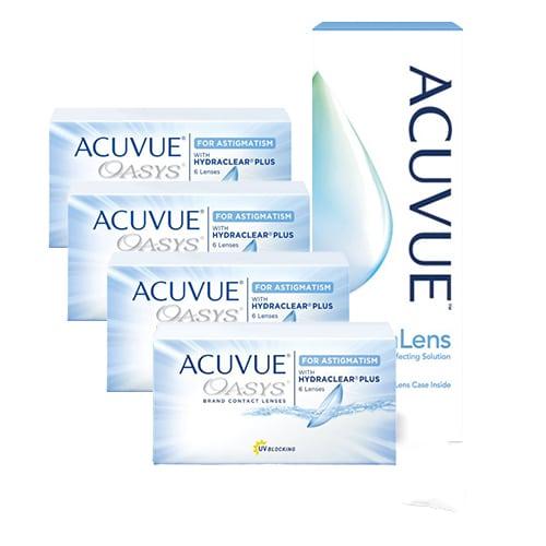 Acuvue Oasys for Astigmatism Kampanya 4 Kutu, astigmatlı lens fiyatı