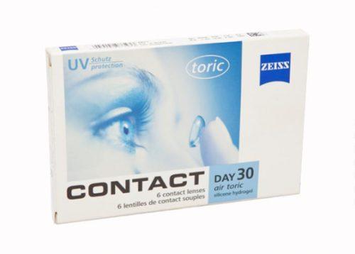 Contact Day 30 Air Toric, astigmatlı lens fiyatı, zeiss toric lens fiyatı, zeiss lens