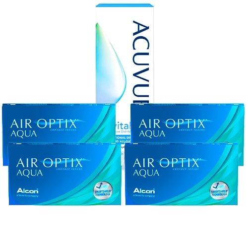 Air Optix Aqua Kampanya 4 Kutu, air optix aqua lens fiyatı, aylık lens fiyatı, şeffaf lens fiyatı