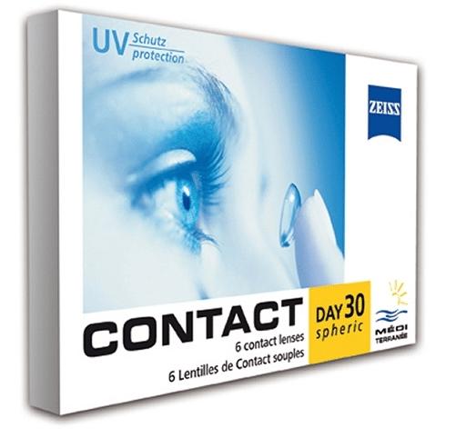 Contact Day 30 (Yüksek dioptri), günlük lens fiyatı, zeiss contact lens fiyatı