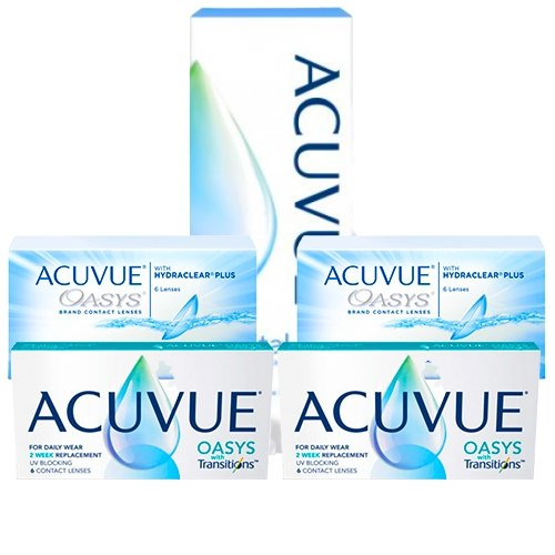Acuvue Oasys + Oasys With Transitions Set