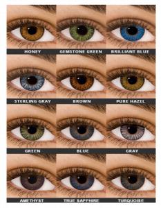 Numaralı Renkli Lens Fiyatları