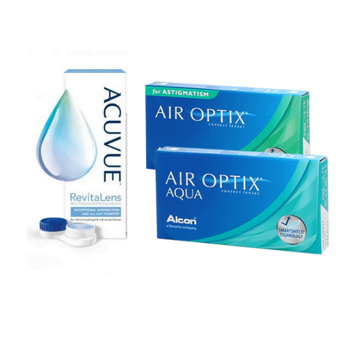 air optix aqua +air optix for astigmatism lens fiyatları